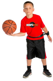 Use the Hoop Harness to work on one handed passing drills too.