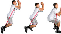 Resistance bands for vertical jump