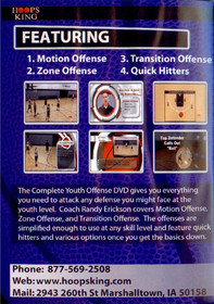 youth basketball offense against man to man zone