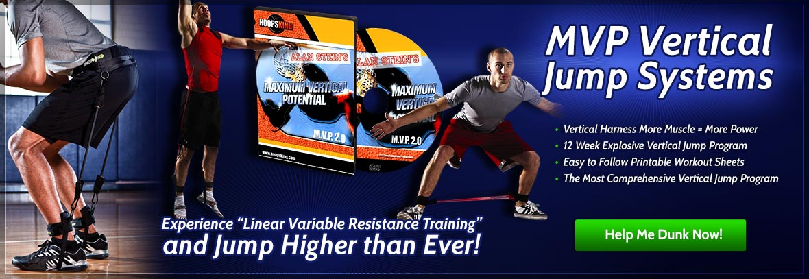 Basketball training vertical jump program and systems