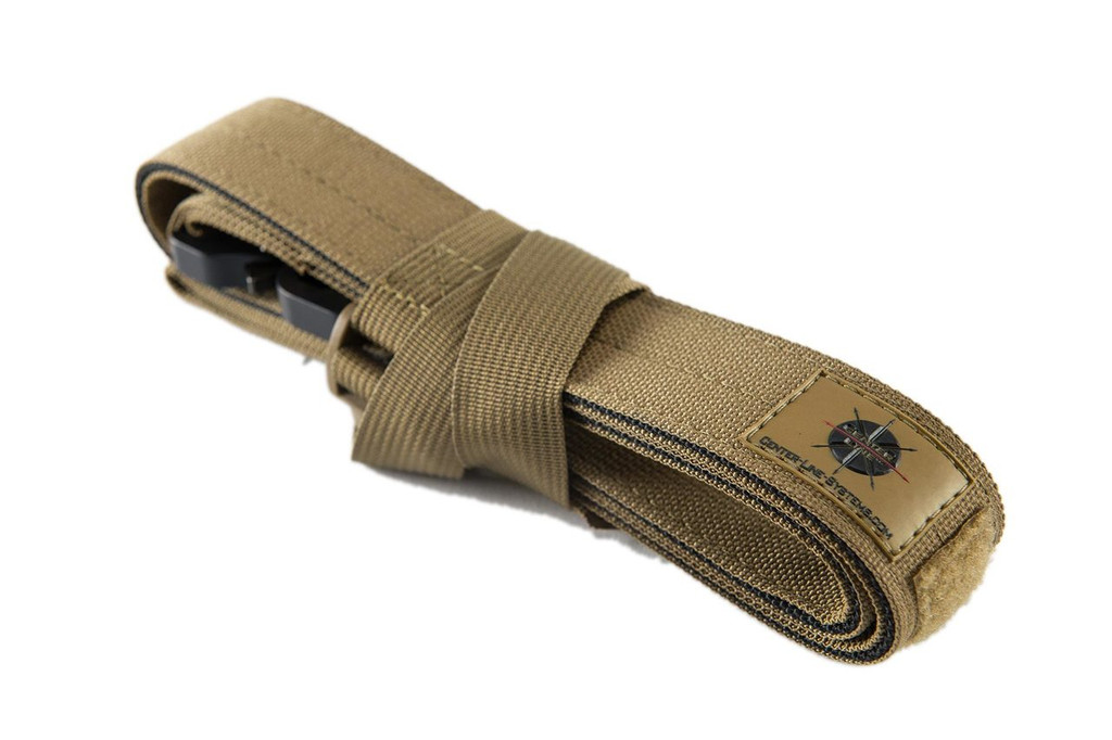 Free Cargo Strap secures belt during shipping...