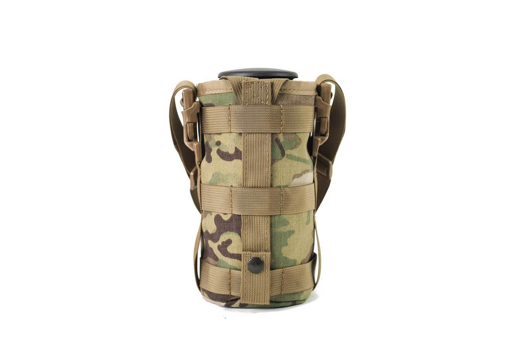 Rear view with MOLLE strap