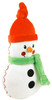 "Organic Snowman Plush - 9.5"" Soft Teether"