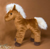 "Mr. Brown Chestnut Horse - 8"" Horse By Douglas Cuddle Toy"