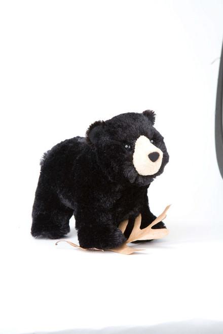 "Morley Black Bear - 7.5"" Bear By Douglas Cuddle Toy"