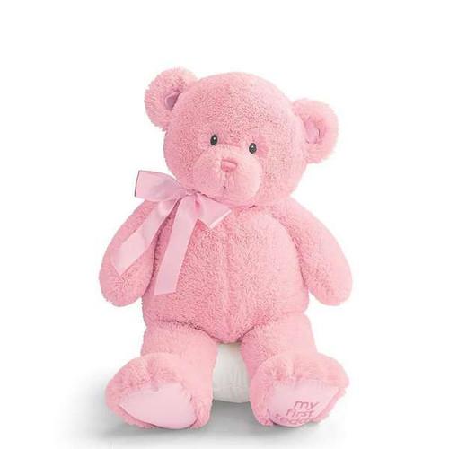 "My First Teddy (Pink) - 24"" Bear By Gund"