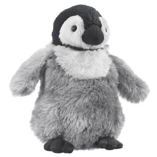 "Emperor Penguin Chick - 6"" Penguin by Wildlife Artists"