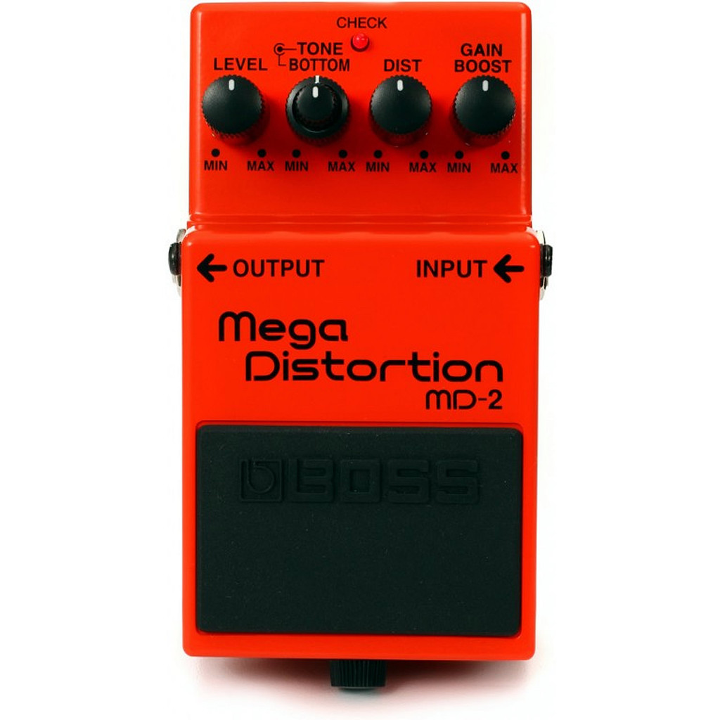 Boss MD2 Mega Distortion - Top Facing