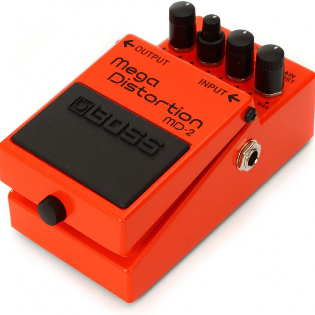 Boss MD2 Mega Distortion - Top Right