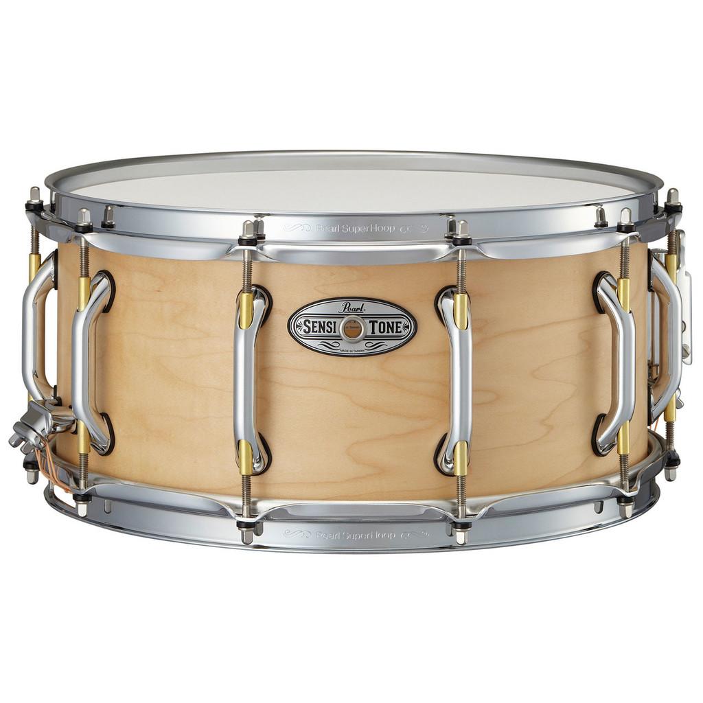 """PEARL  14"""" x 6.5"""" Premium Maple Sensitone Snare"""