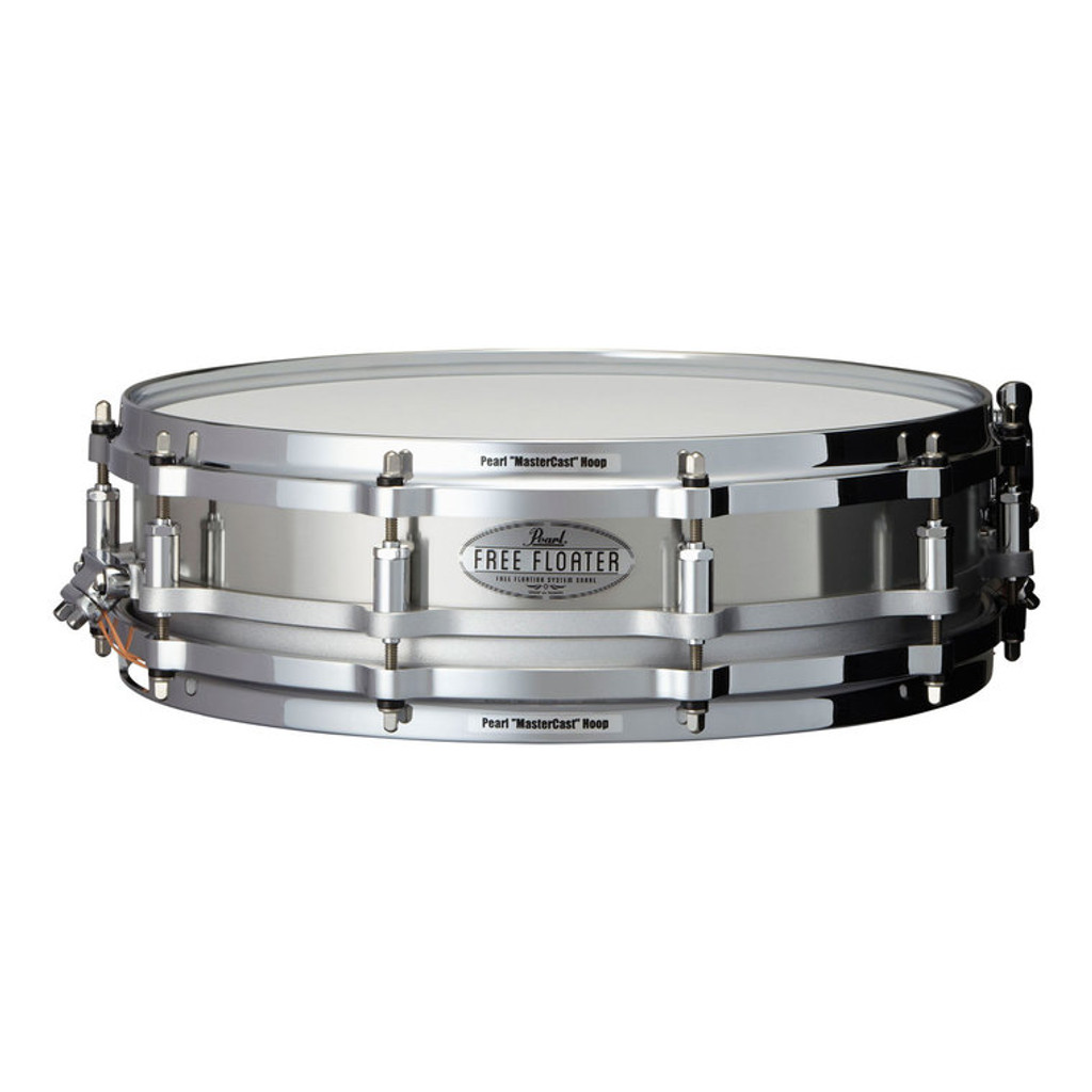 PEARL 14 x 3.5 Free Floating Snare-Stainless Steel