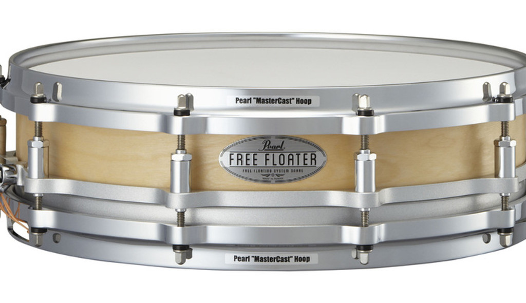 PEARL FTSS1435 14 x 3.5 Free Floating Snare-Maple Wood