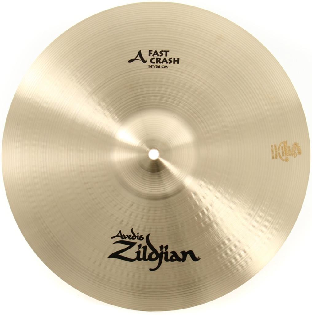 "Zildjian A20536  14"" A Custom Fast Crash"