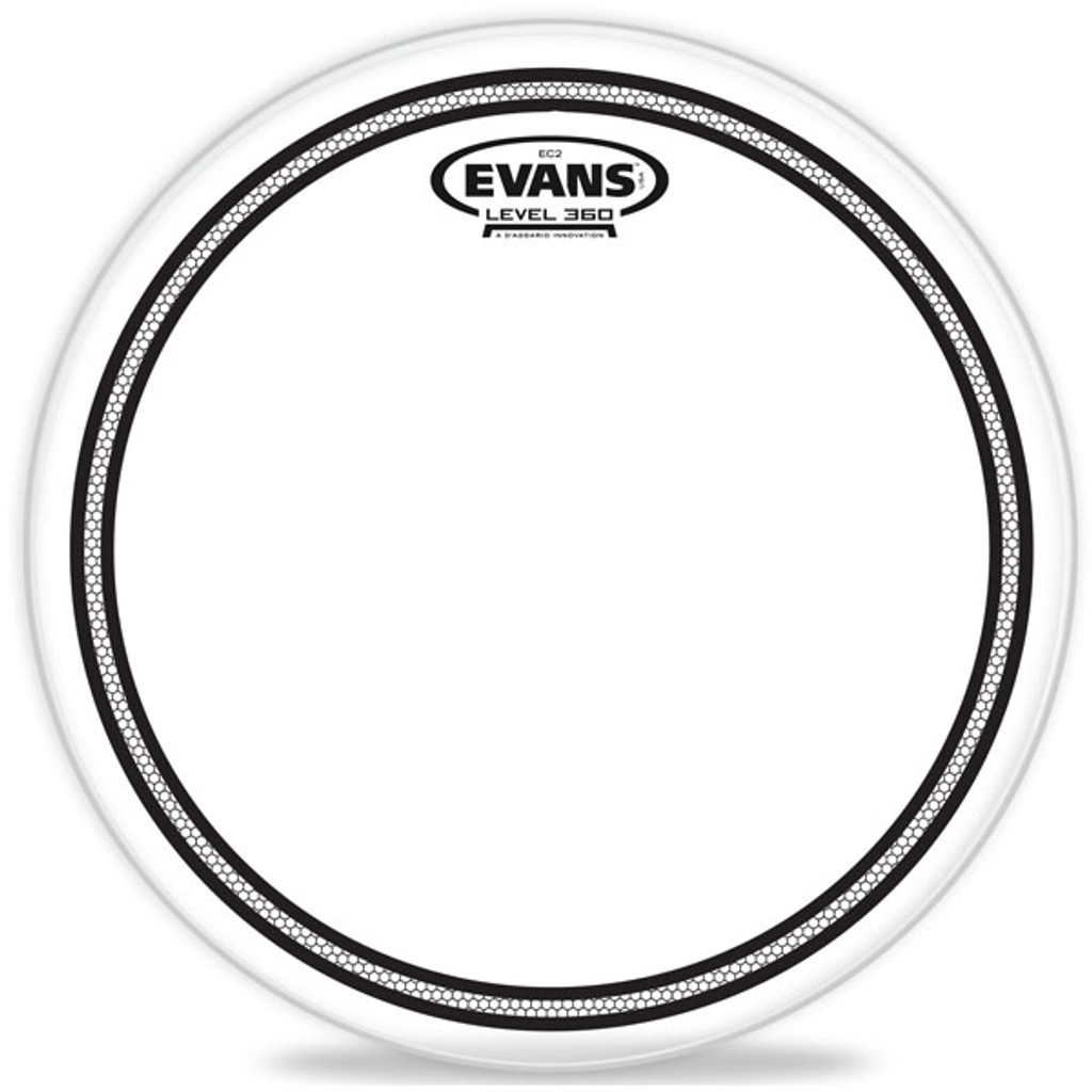 EC2 CLEAR – Evans Drum Head – 13, 14""