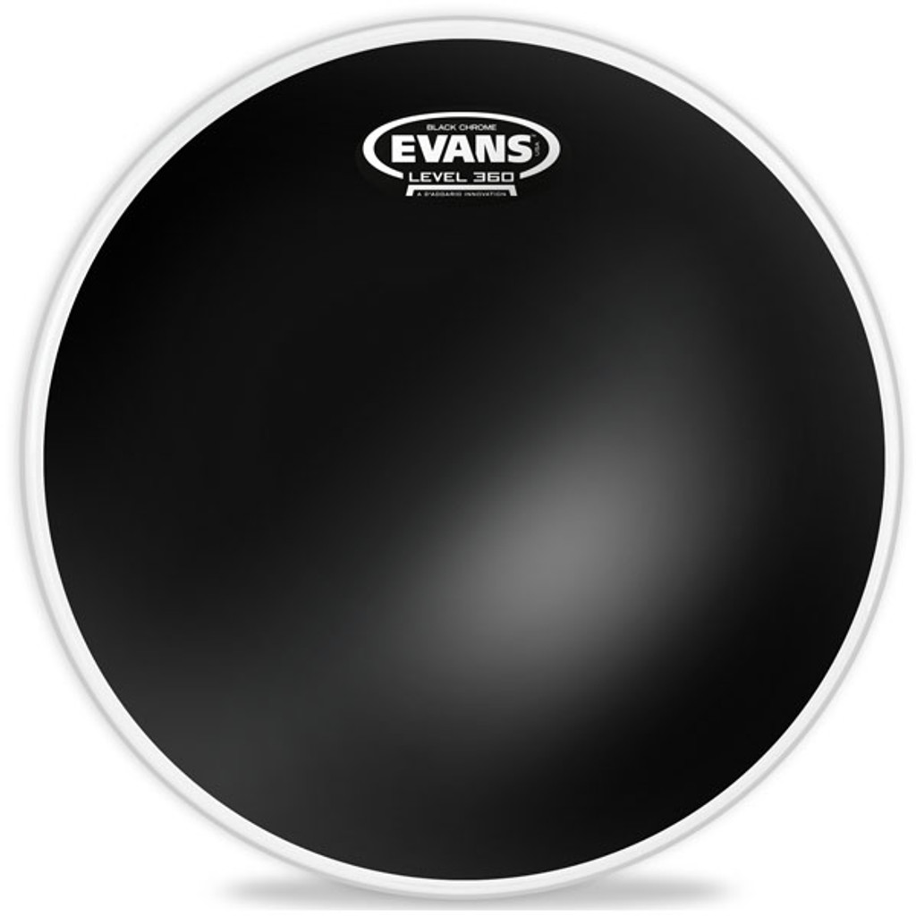 Black Chrome - Evans Tom Head - 12, 16, 18""