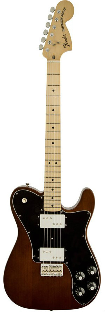 Fender '72 Telecaster Deluxe Electric Guitar Front Facing