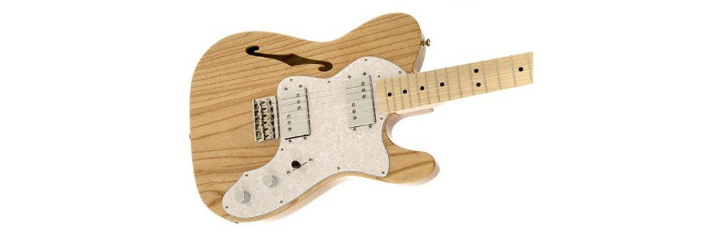 Fender '72 Telecaster Thinline Offset Front Facing