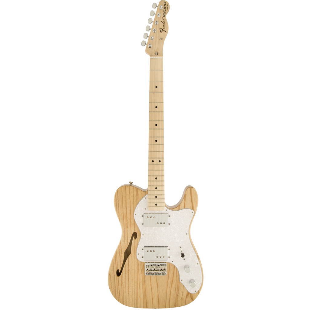 Fender '72 Telecaster Thinline, Natural