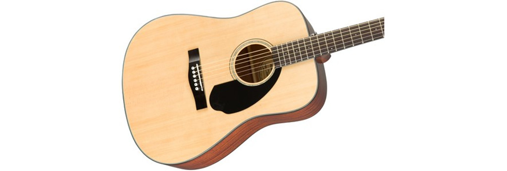 Fender CD60S Solid-Top Acoustic Guitar Offset Front Facing