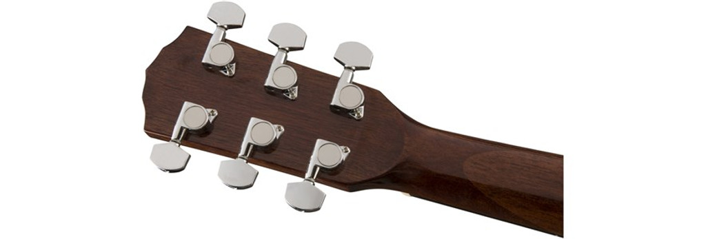 Fender CD60S Left-Handed Acoustic Guitar Headstock Rear Facing
