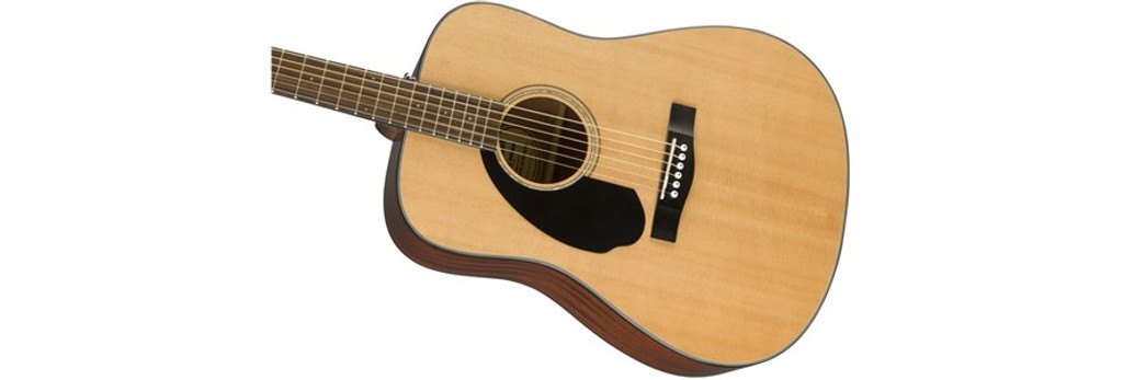 Fender CD60S Left-Handed Acoustic Guitar Offset Front Facing