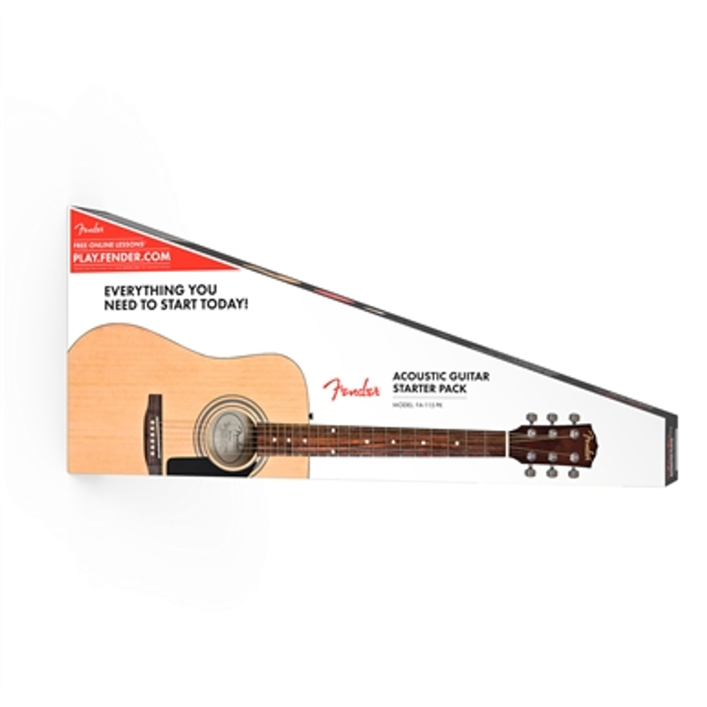 Fender FA115 Dreadnaught Acoustic Guitar Pack