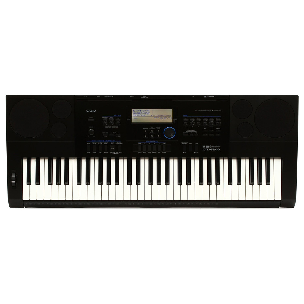 CTK6200 61 Note Portable Casio Keyboard