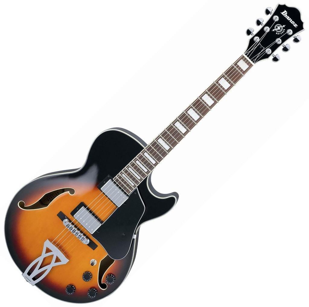 Ibanez AG75BS Semi-Hollow- Right Handed