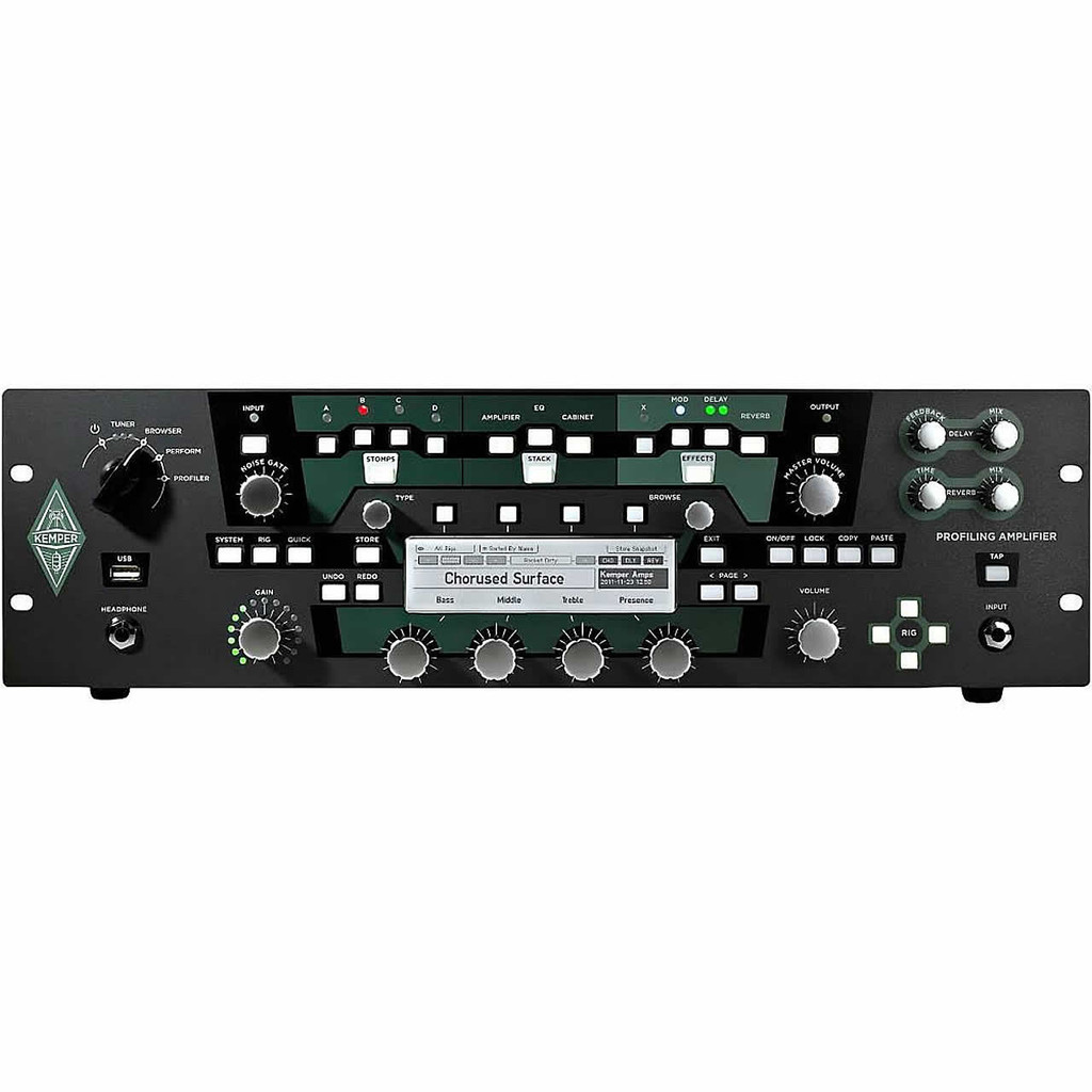KEMPER PRR Profiler Non Power Rack Front Face
