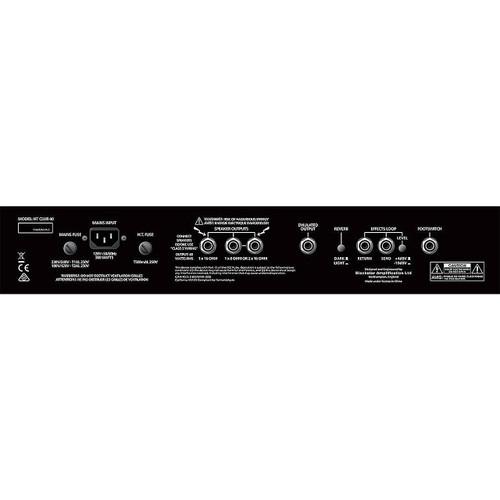BLACKSTAR 40 Watt Tube Combo - back panel