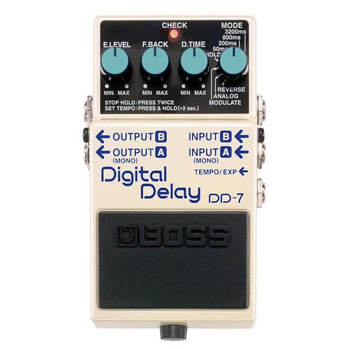 DD7 Boss Digital Delay Pedal