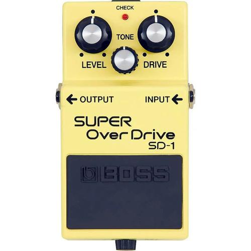 Boss SD1A Super Overdrive - Overhead