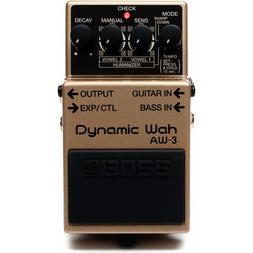 Boss AW3 Dynamic Wah Top Facing