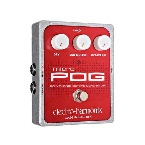 ELECTRO HARMONIX MICRO POG Micro Pog Polyphonic Octave Generator