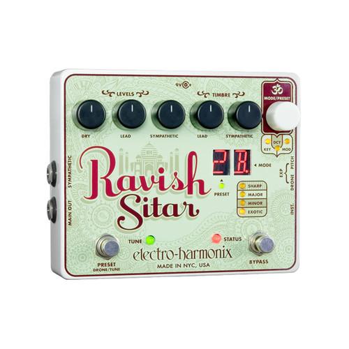 ELECTRO HARMONIX RAVISH Ravish Sitar Emulator - TOP