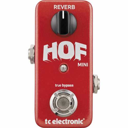TC ELECTRONICS Hall of Fame Mini Reverb - Top