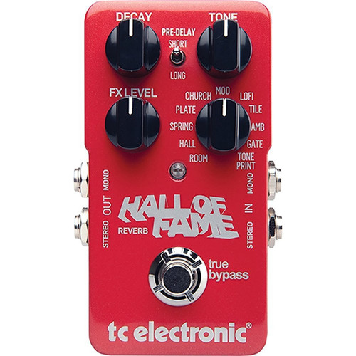 TC ELECTRONICS 960660001 Hall of Fame Reverb