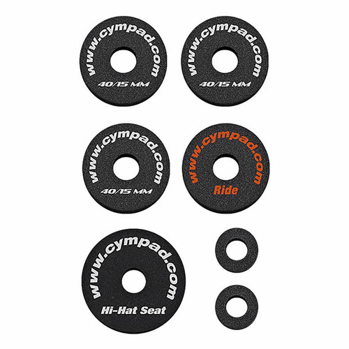 Cympad OSSP Optimizer Starter Pack  (3x 40/15mm 1x HH, 1x Ride)