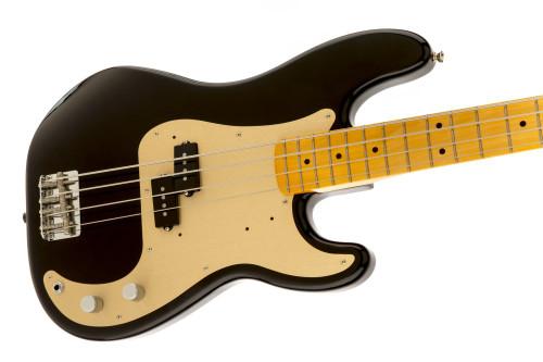 Fender 50's P Bass MN Blk- Maple Neck