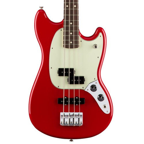 Fender Mustang Bass PJ - Torino Red