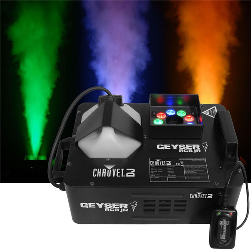 CHAUVET GEYSERRGB Fogger w/ LED Light