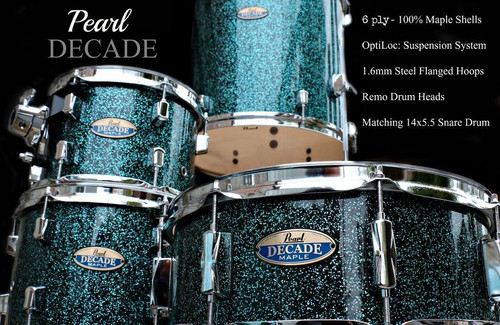 Decade Maple Shell Set
