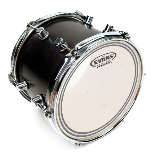 EC2S Frosted - Evans Drum Head - 10, 12, 13, 14, 16""