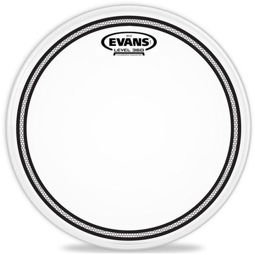 "EC2S Frosted - Evans Drum Head - 10, 12, 13, 14, 16"""