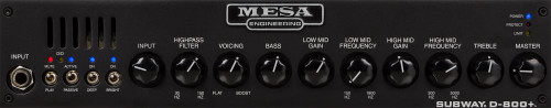 MESA BOOGIE Subway D800+ Head
