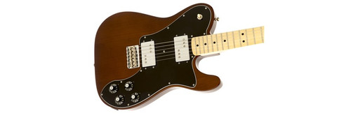 Fender '72 Telecaster Deluxe Electric Guitar Offset Front Facing