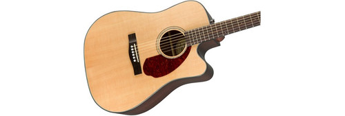 Fender CD140SCE Acoustic Electric Guitar Offset Front Facing