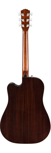 Fender CD140SCE Acoustic Electric Guitar Rear Facing