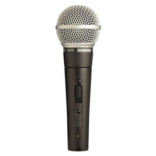 Shure SM58 Dynamic Microphone w/ Switch