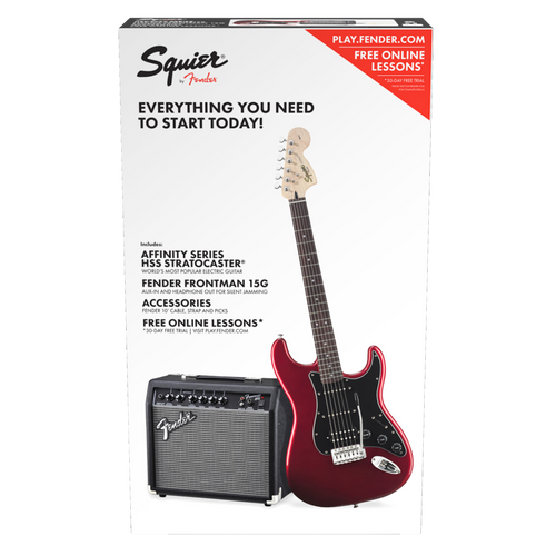 Squire Affinity Strat Pack HSS